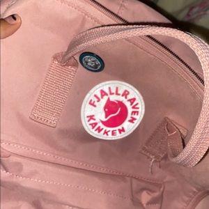 kanken backpack pink